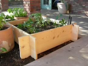 raised flower bed